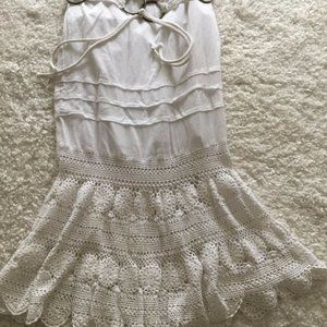 Laundry by Shelli Segal skirt white size 0